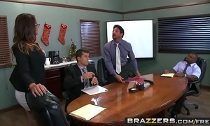 Brazzers - heavy tits at work - (tory lane, ramon rico, strong tommy gunn)
