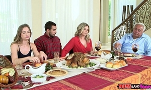 Moms rumble legal age teenager - unhealthy family thanksgiving