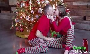 Christmas morning daddy's taboo: full clips familystroke.net